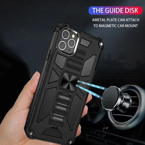 Luxury Armor Shockproof With Ring Kickstand  For iPhone