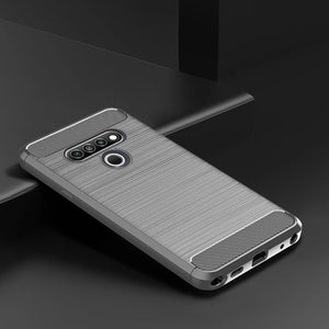 Luxury Carbon Fiber Case For LG K51-Fast Delivery