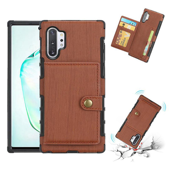 Security Copper Button Protective Case For Samsung