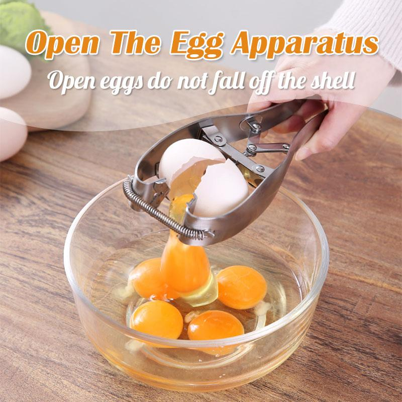 Open The Egg Apparatus