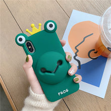Load image into Gallery viewer, Cute Pig&Frog All-In-One Phone Case