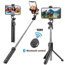 Load image into Gallery viewer, Selfie Stick Tripod With Wireless Remote