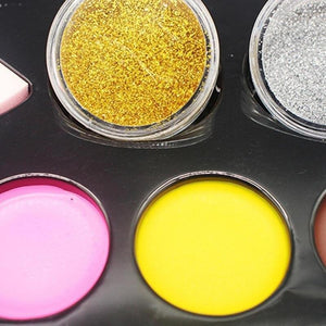 2020 Halloween 14 Color Makeup Oil Paint Set For Children or Adults