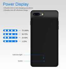 Load image into Gallery viewer, Ultra Thin Power Bank Charging Case Cover For iPhone-Battery Charger Case