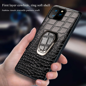 Luxury Genuine Leather Case For iPhone