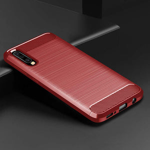 Luxury Carbon Fiber Case For Samsung A50