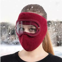 Load image into Gallery viewer, Facial Protection Anti-Fog, Dust-Proof Full Face Protection Masks