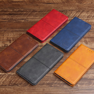 TPU + PU Leather Phone Cover Case for iPhone