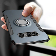 Load image into Gallery viewer, Luxury Shockproof Phone Case For iPhone Car Holder Cases