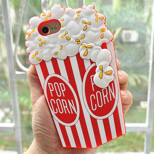 Cute POP CORN Phone Case
