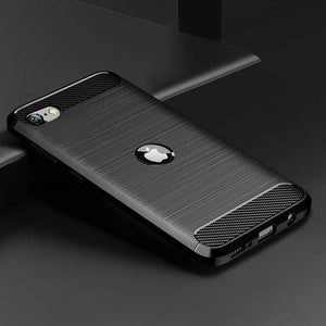 Luxury Carbon Fiber Case For iPhone SE2020
