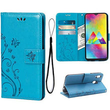 Load image into Gallery viewer, NEW Luxury Embossed Wallet Phone Case For Samsung A20&A30 Series
