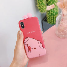Load image into Gallery viewer, Tired Pig Phone Case