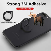 Load image into Gallery viewer, Reuseable Self-adhesive Phone Stand Finger Ring Holder