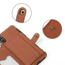 Load image into Gallery viewer, Security Copper Button Protective Case For iPhone Xs Max
