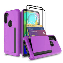 Load image into Gallery viewer, Armor Protective Card Holder Case for Samsung A11(US) With 2-Pack Screen Protectors