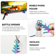 Load image into Gallery viewer, All-new 3-in-1 Tool (Bottle Opener, Phone Holder, Magnetic Keychain)