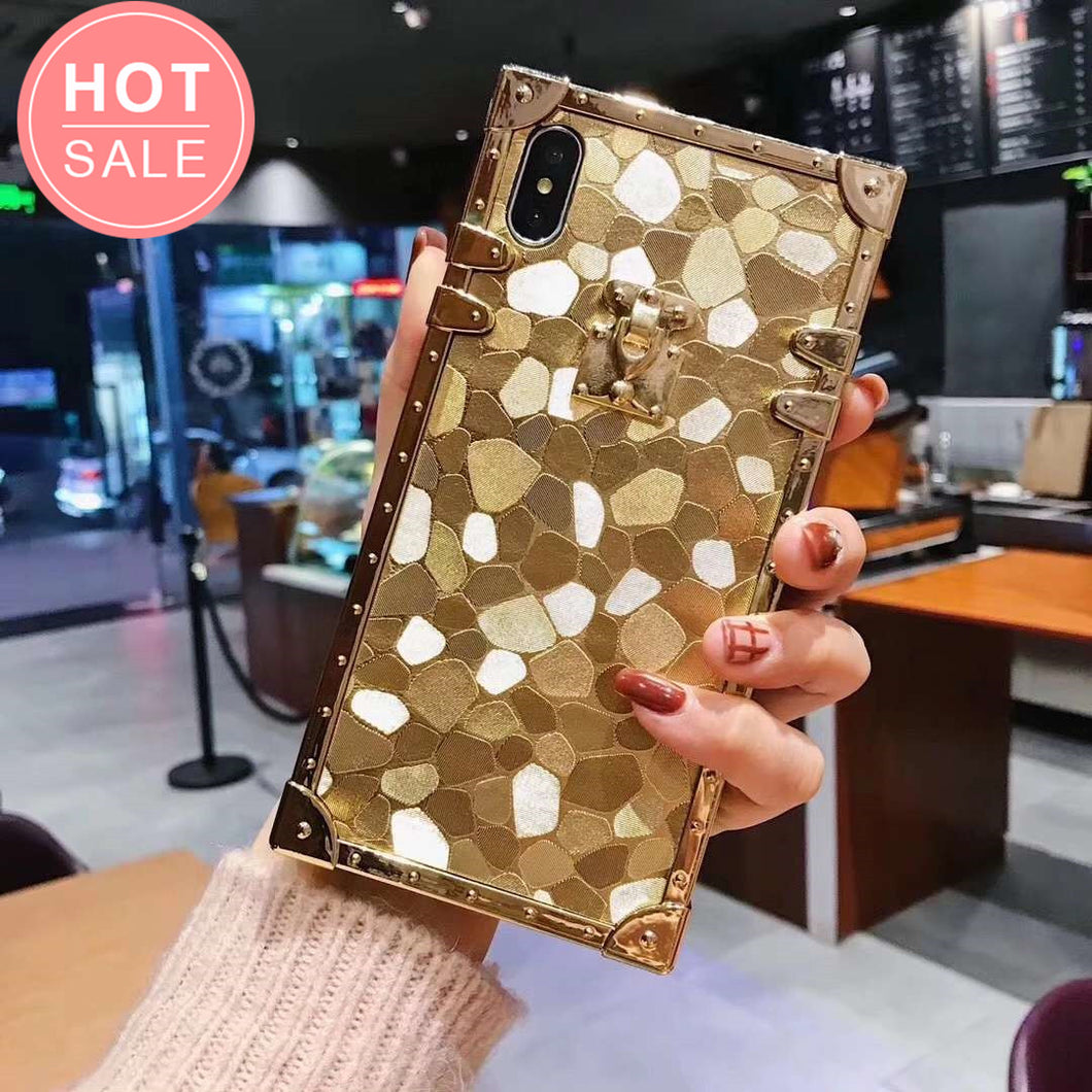 Luxury Fashion Gold Phone Case