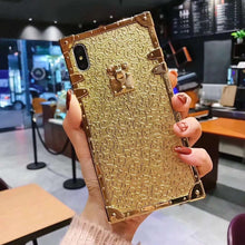 Load image into Gallery viewer, Luxury Fashion Gold Phone Case