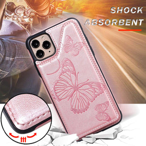 New Luxury Embossing Wallet Cover For iPhone 11Pro Max-Fast Delivery