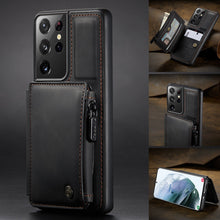Load image into Gallery viewer, 2021 New Luxury Multifunctional Wallet Phone Case For Samsung S21 Series