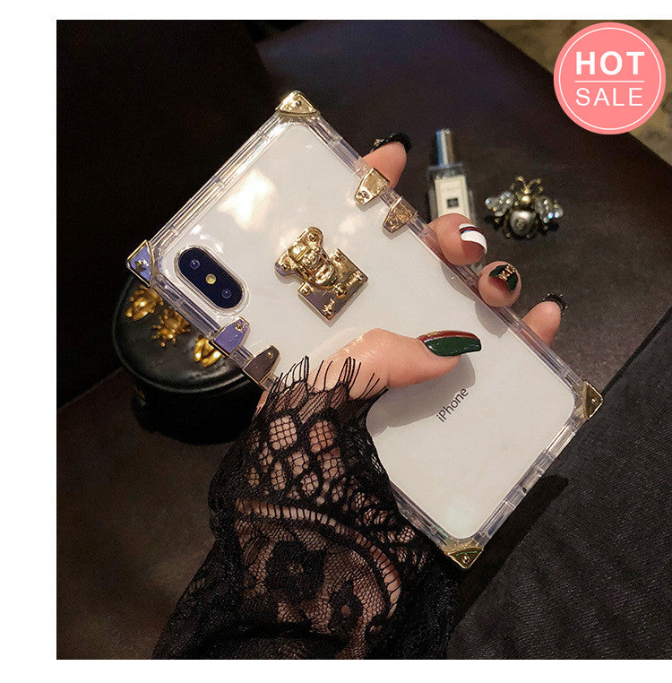 Luxury Fashion Transparent Phone Case