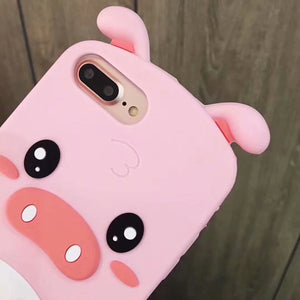Cute Pink Pig Phone Case