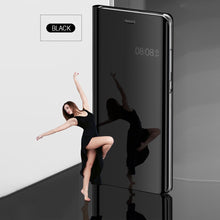 Load image into Gallery viewer, Luxury Mirror Flip Smart Case For HUAWEI