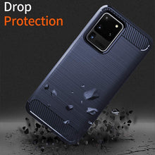 Load image into Gallery viewer, Luxury Carbon Fiber Case For Samsung S/N Series