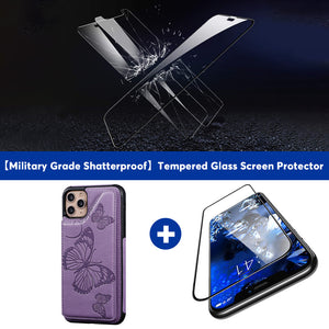 New Luxury Embossing Wallet Cover For iPhone 11 Pro-Fast Delivery
