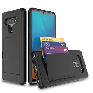 Armor Protective Card Holder Case for LG