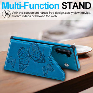 New Luxury Embossing Wallet Cover For SAMSUNG Note 10-Fast Delivery
