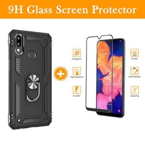 Luxury Armor Ring Bracket Phone Case For Samsung A10S-Fast Delivery