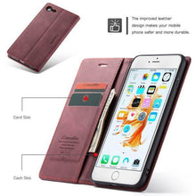 Load image into Gallery viewer, Luxury Retro Wallet Case For iPhone