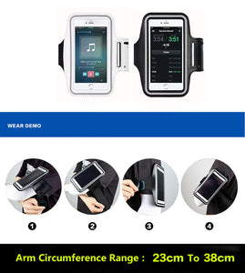 2020 Mobile phone arm bag for outdoor sports equipment