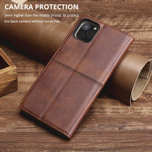 Load image into Gallery viewer, TPU + PU Leather Phone Cover Case for Samsung A11