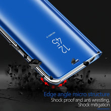 Load image into Gallery viewer, 【Christmas Gift】Luxury Mirror Flip Smart Case For Samsung Series