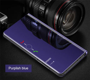 Luxury Smart View Mirror Case For HUAWEI