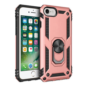 Luxury Armor Ring Bracket Phone case For iPhone SE2020&7-8