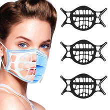 Load image into Gallery viewer, Upgraded Version Silicone 3D Face Mask Bracket