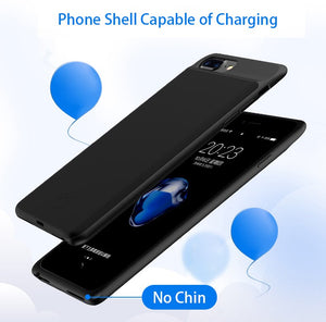 Ultra Thin Power Bank Charging Case Cover For iPhone-Battery Charger Case
