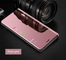 Load image into Gallery viewer, Luxury Stylish Mirror Flip Smart Case For Samsung