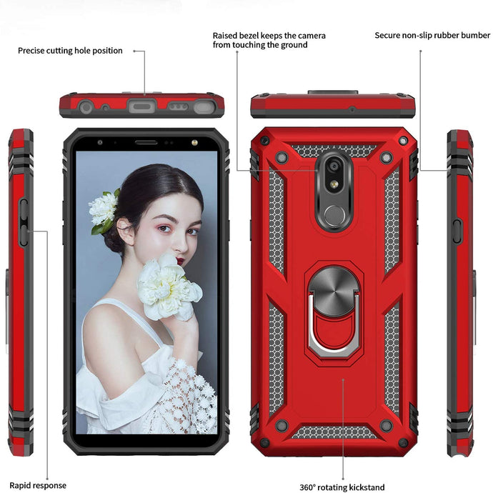 2020 New Luxury Armor Ring Bracket Phone case For LG Stylo5-Fast Delivery