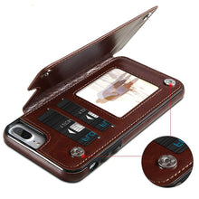 Load image into Gallery viewer, 4 IN 1 Luxury Leather Case For iPhone