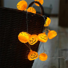 Load image into Gallery viewer, 2020 Halloween LED Pumpkin Lantern Lights String
