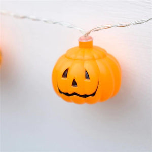 2020 Halloween LED Pumpkin Lantern Lights String