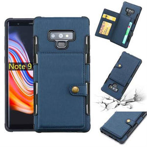 Copper Button Protective Case For Samsung Note 9