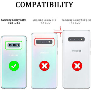 Luxury Armor Ring Bracket Phone Case For Samsung S10e-Fast Delivery