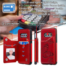 Load image into Gallery viewer, New Luxury Embossing Wallet Cover For SAMSUNG S10e-Fast Delivery