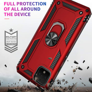 2020 New Luxury Armor Ring Bracket Phone case For Google Pixel 4-Fast Delivery